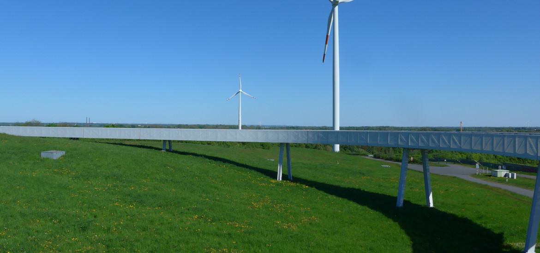 Horizontwerg Energieberg Georgswerder Hamburg Frühlingsunternehmungen
