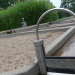 Wasser marsch im Inselpark Wilhelmsburg