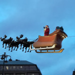 Advent in Hamburg: Santa Claus is coming to town