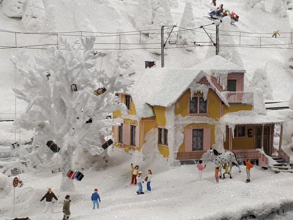 Miniatur Wunderland Villa Kunterbunt