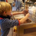Die Schokoladen-Künstler vom Jungfernstieg