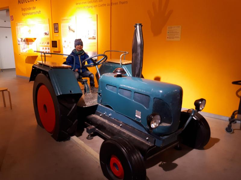 Freilichtmuseum am Kiekeberg Agrarium Lanz Bulldog