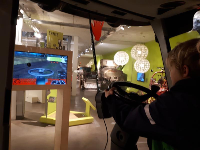 Freilichtmuseum am Kiekeberg Mähdrescher-Simulator
