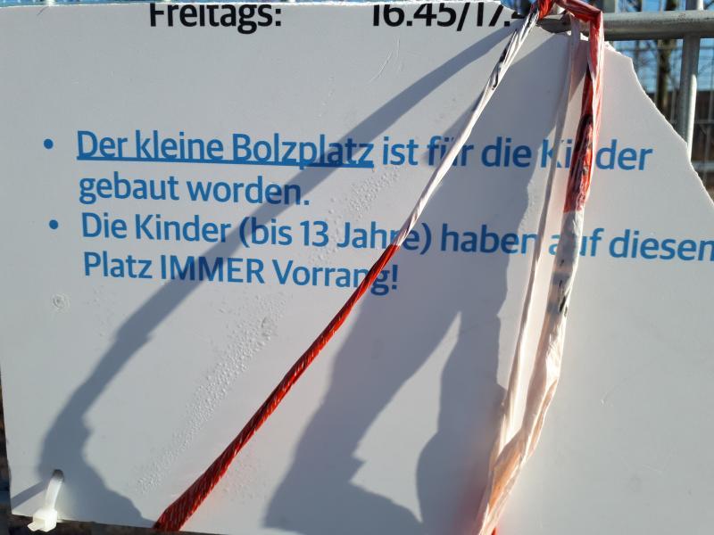 Kleiner Bolzplatz Lohsepark HafenCity Hamburg