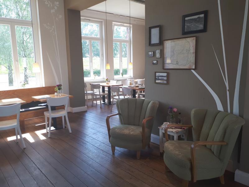 Wasserkunft Elbinsel Kaltehofe Café