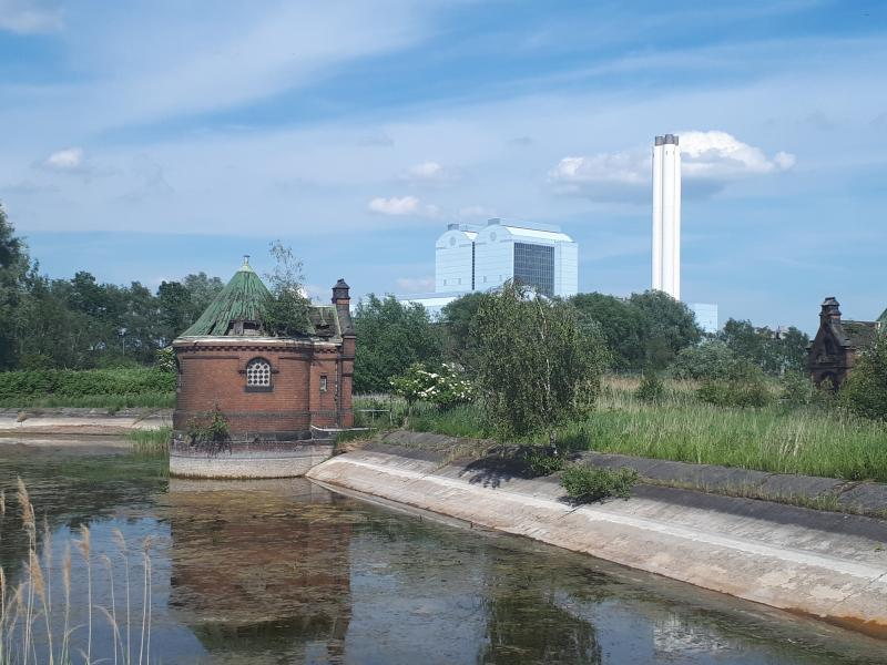 Wasserkunst Elbinsel Kaltehofe Kraftwerk Tiefstack