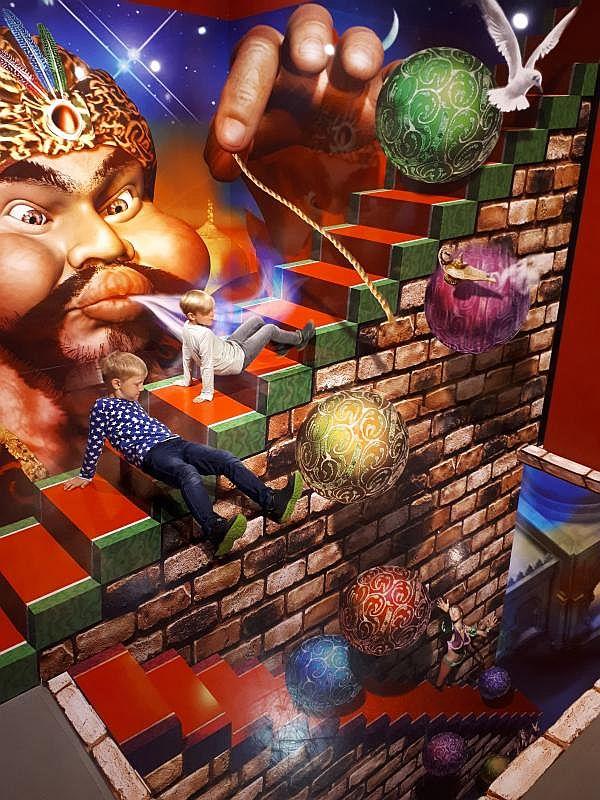 3D Illusionen TrickArt Hamburg