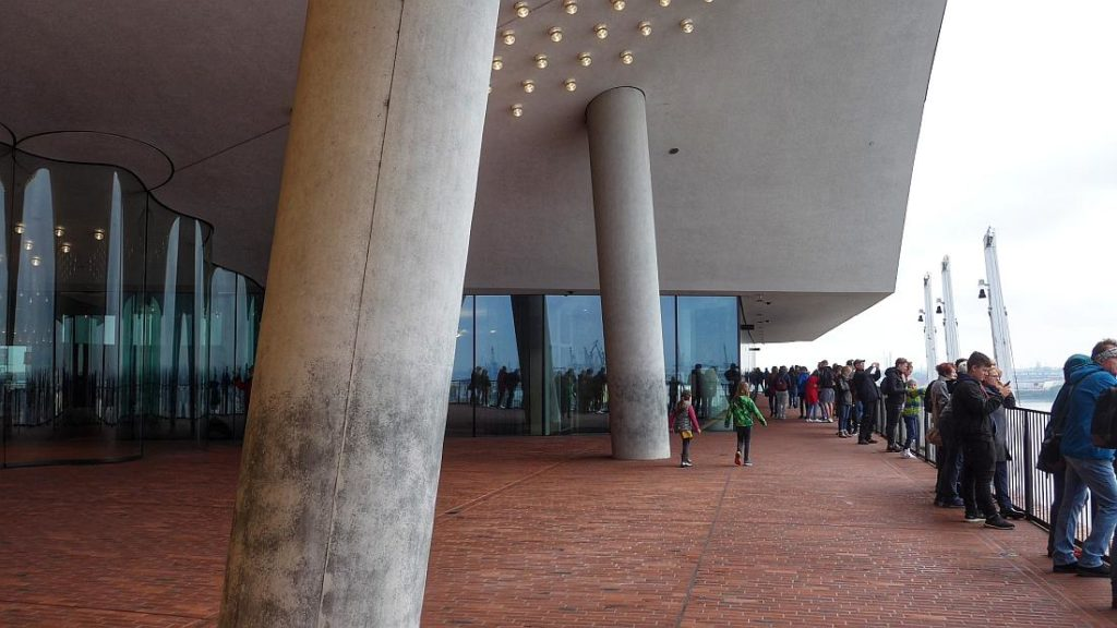 Außenplaza Elbphilharmonie