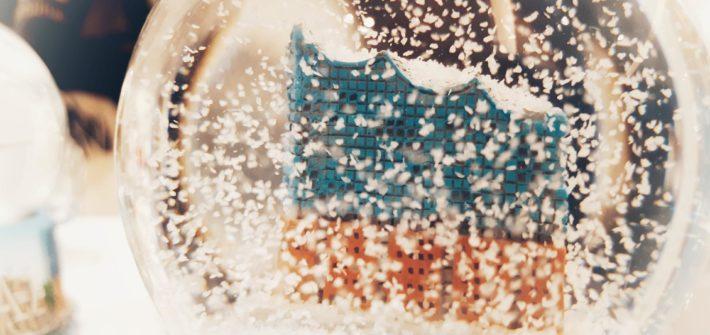 Elbphilharmonie Schneekugel