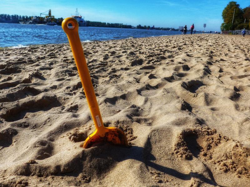 Hamburg mit Kind Strand